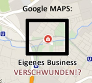Google Maps: my Business Symbol/Icon fehlt!?